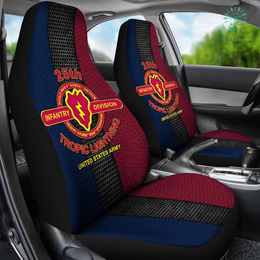 25th-infantry-division_66ad1f2b-2036-8587-808d-94b066bfe83c 25th Infantry Division tropic lightning United States Army Car Seat Covers  %tag