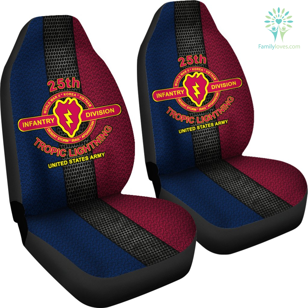 25th-infantry-division_9bf261d4-e062-e9dc-d15b-992314143585 25th Infantry Division tropic lightning United States Army Car Seat Covers  %tag