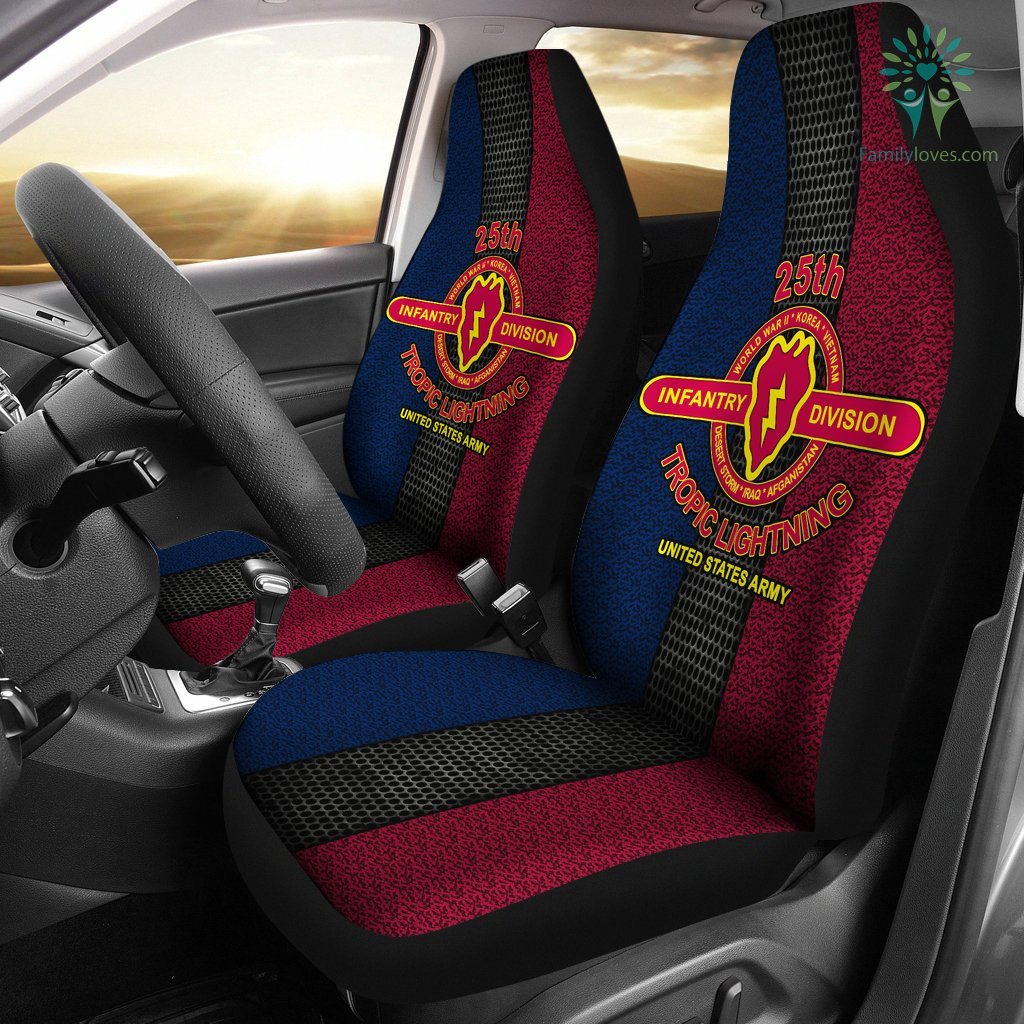 25th-infantry-division_dd37b792-001c-6b27-9c26-35667af32b50 25th Infantry Division tropic lightning United States Army Car Seat Covers  %tag