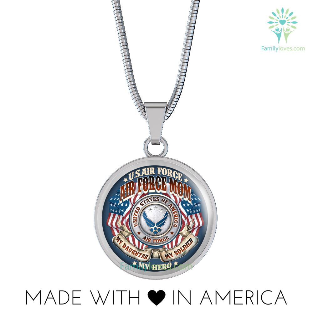 air-force-mom_4479d550-29ce-8758-3598-d3babf35c6fa AIR FORCE MOM MY DAUGHTER MY SOLDIER MY HERO LUXURY NECKLACE  %tag