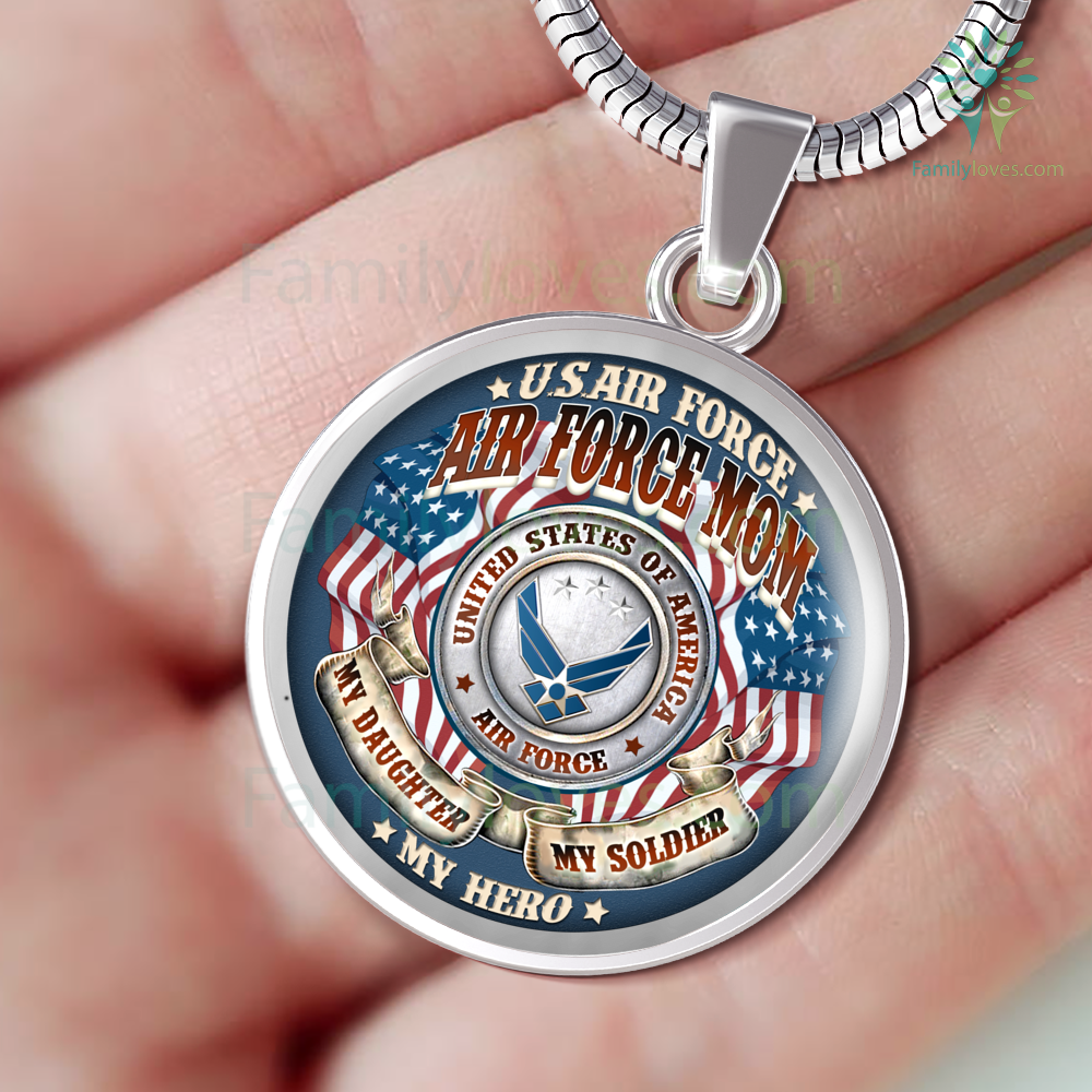 air-force-mom_fe2167a1-3c93-8db6-0d61-526fec29d0d3 AIR FORCE MOM MY DAUGHTER MY SOLDIER MY HERO LUXURY NECKLACE  %tag