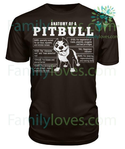 anatomy-of-a_044bf338-1c21-60c0-f268-99abea29aa11 Anatomy Of A Pitbull Dog Tshirt  %tag