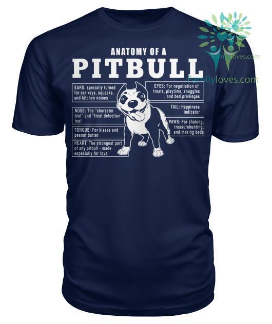 anatomy-of-a_16583a3f-60ea-455e-c283-35e11e132cfd Anatomy Of A Pitbull Dog Tshirt  %tag