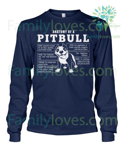 anatomy-of-a_5f9660f2-ae67-684b-2d38-26f50d0ae706 Anatomy Of A Pitbull Dog Tshirt  %tag
