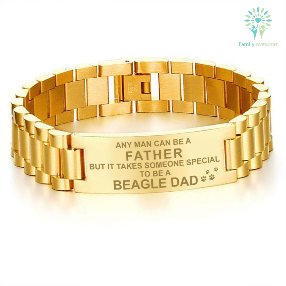 any-man-can_07311279-86eb-44aa-9982-e36bc43229a3 Any man can be a father but it takes someone special to be a beagle dad-men bracelets  %tag
