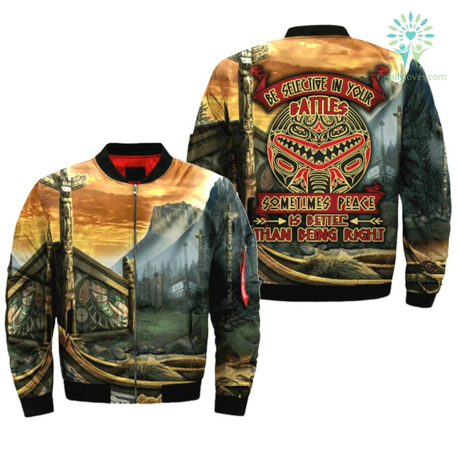 be-selective-in_fa70a77f-2848-ee89-a5cd-a1837e3ec628 BE SELECTIVE IN YOUR BATTLES SOMETIMES PEACE IS BETER THAN BEING RIGHT OVER PRINT BOMBER JACKET  %tag