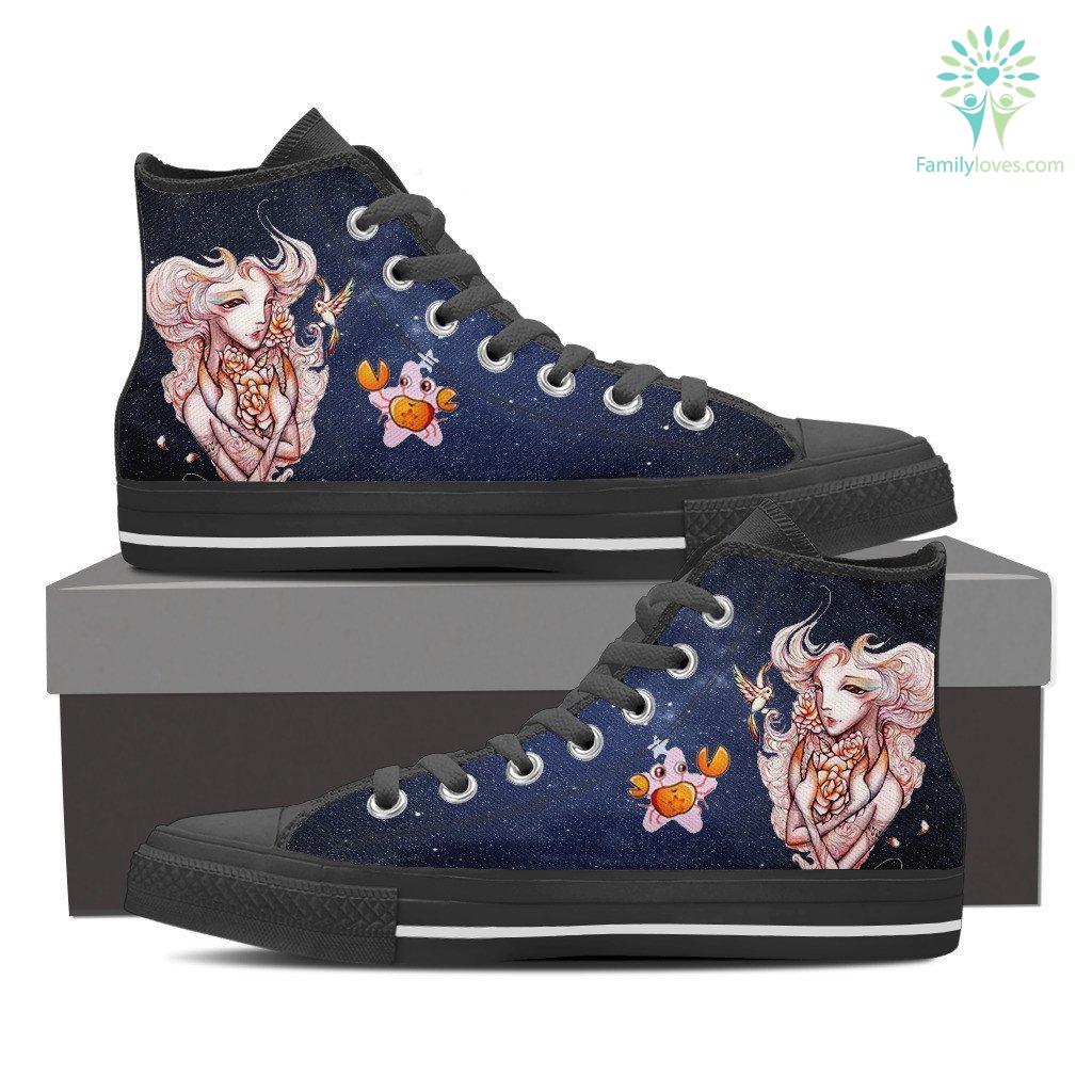 Cancer High Shoes Blue Familyloves Com