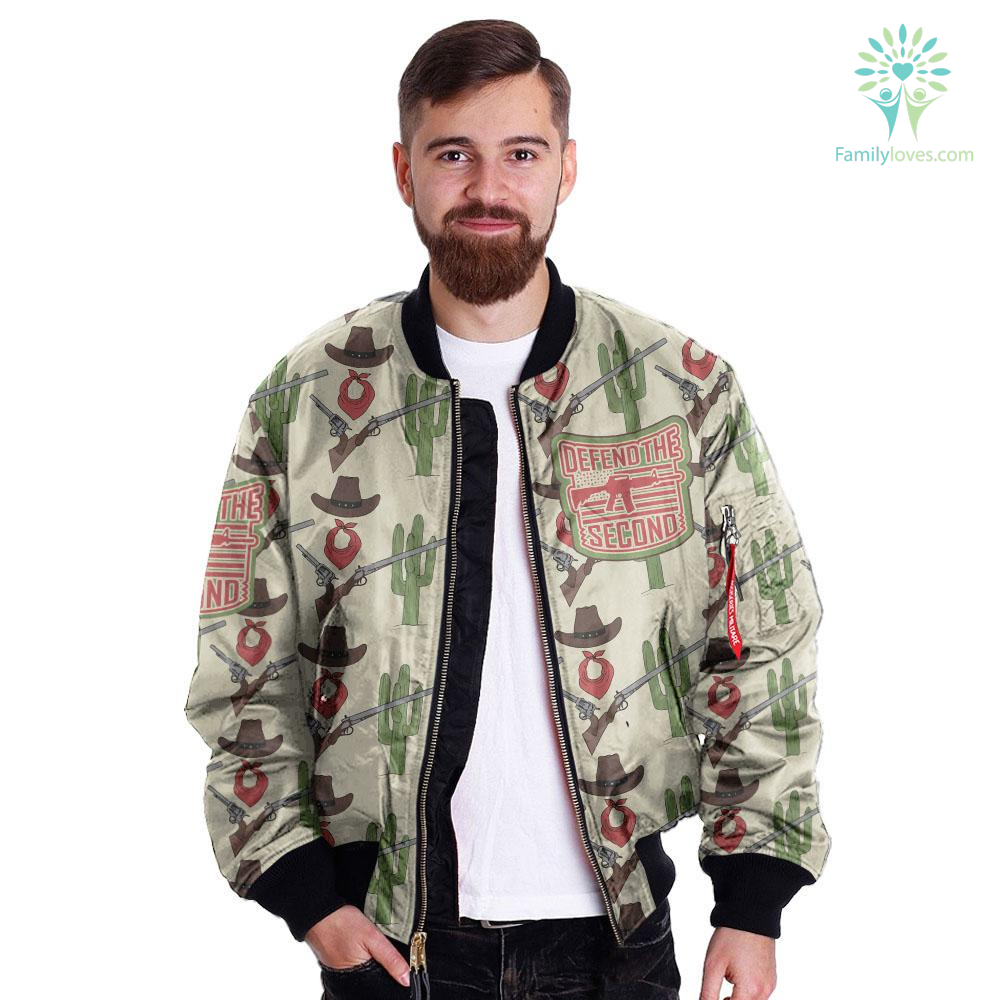 defend-the-second_53305b94-54db-1e41-1e37-06f04d1932b8 DEFEND THE SECOND over print Bomber jacket  %tag