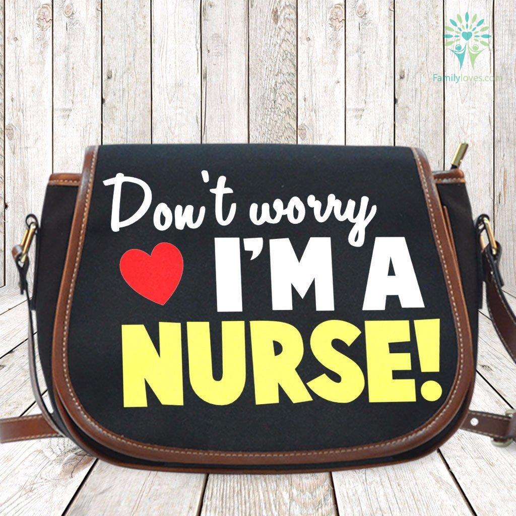 don-t-worry_ea701129-3beb-ab55-d61f-023161952105 Don't worry i'm a nurse Saddle Bag  %tag