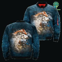 Find 13 Horses over print jacket %tag familyloves.com