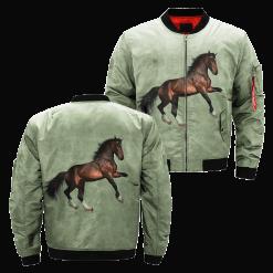 Forest Stallion over print jacket %tag familyloves.com