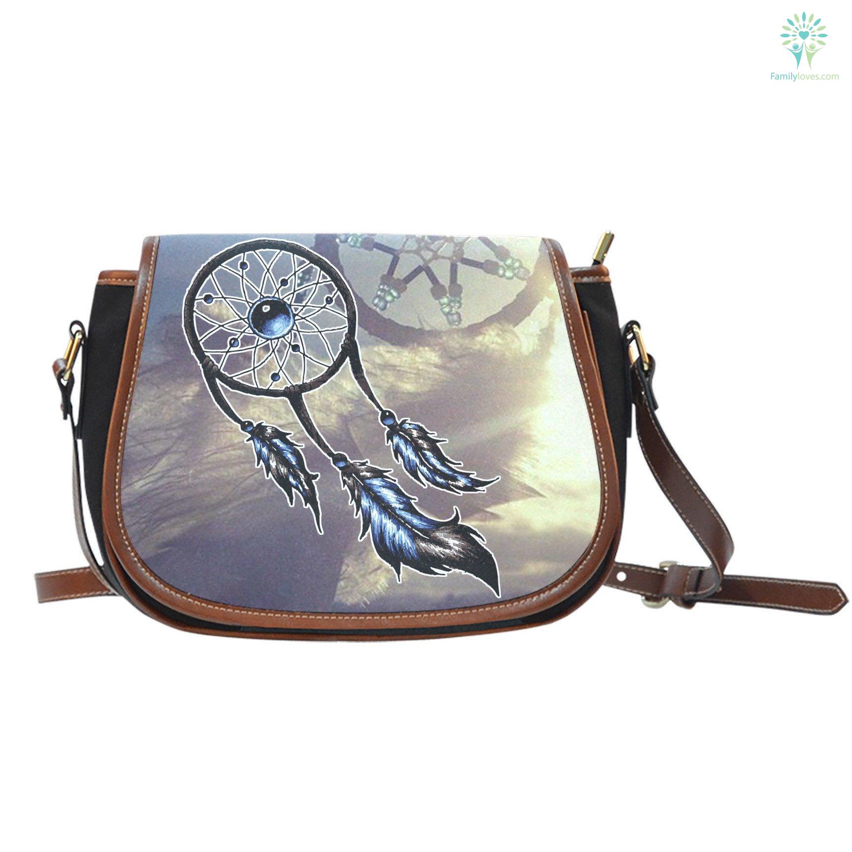 Native Dreamcatcher Saddle Bag Familyloves Com