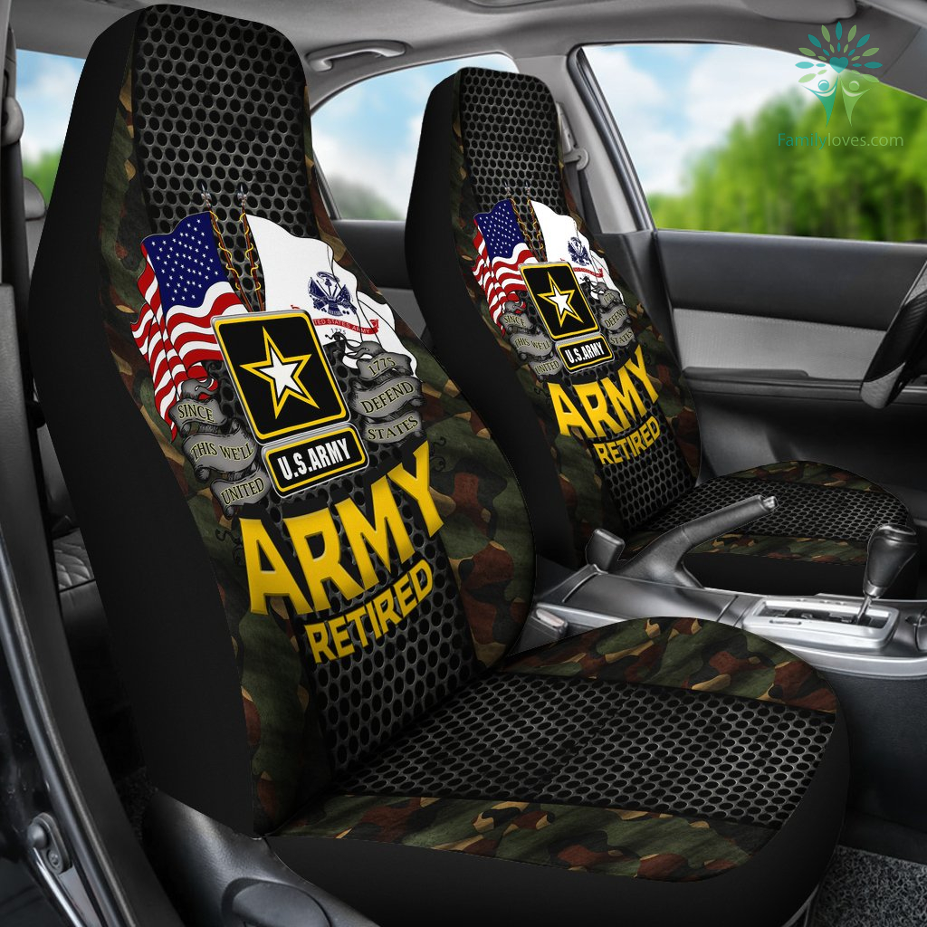 U S Army Retired Car Seat Covers Familyloves Com