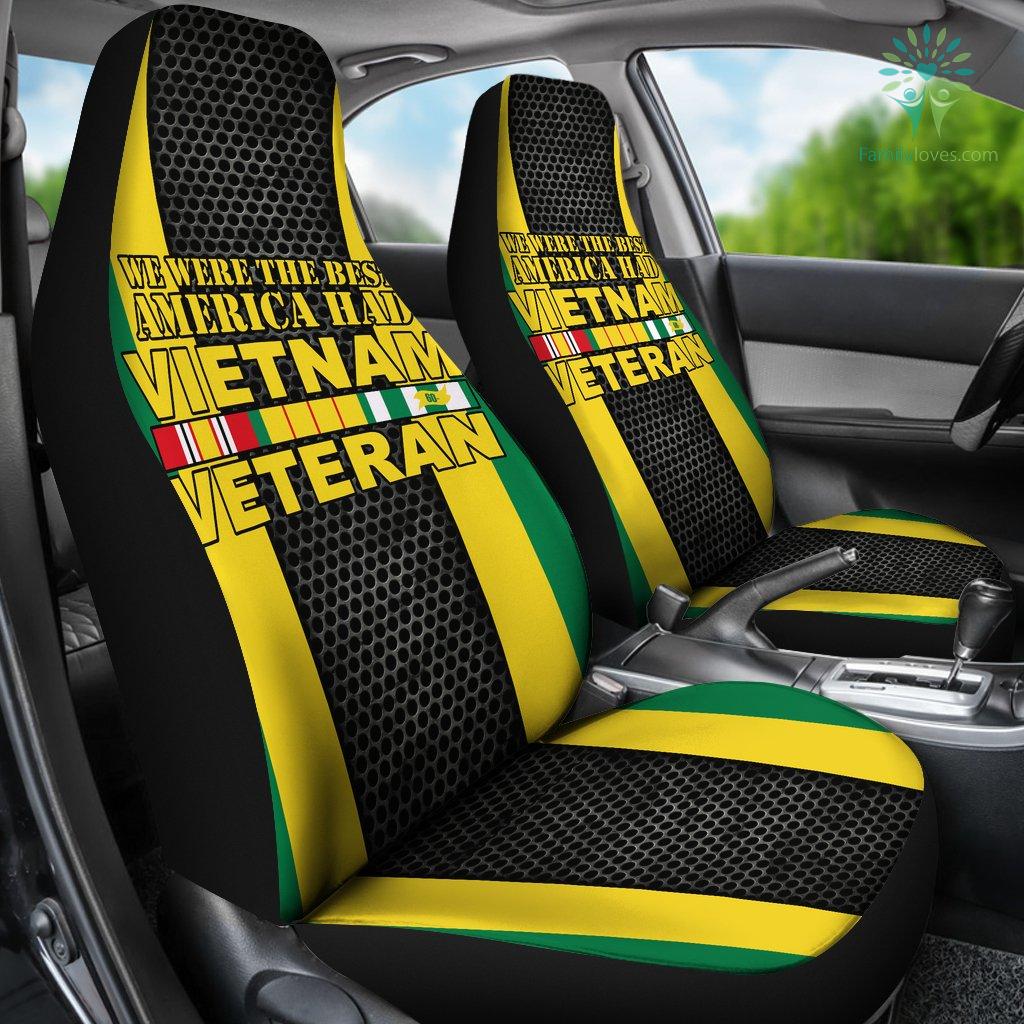We Were The Best America Had Vietnam Veteran Car Seat