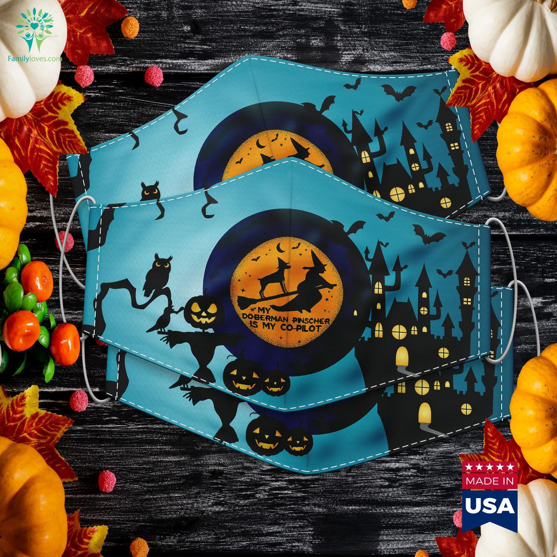 Doberman Halloween Costumes 2020 Funny Halloween My Doberman Pinscher Is My Co Pilot Buy Halloween